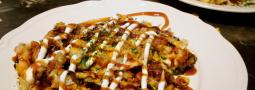 Okonomiyaki, deliciosa pizza japonesa