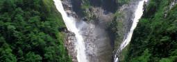 Shomyo-daki y Hannoki-no-taki, las cataratas gigantes de los Alpes Japoneses