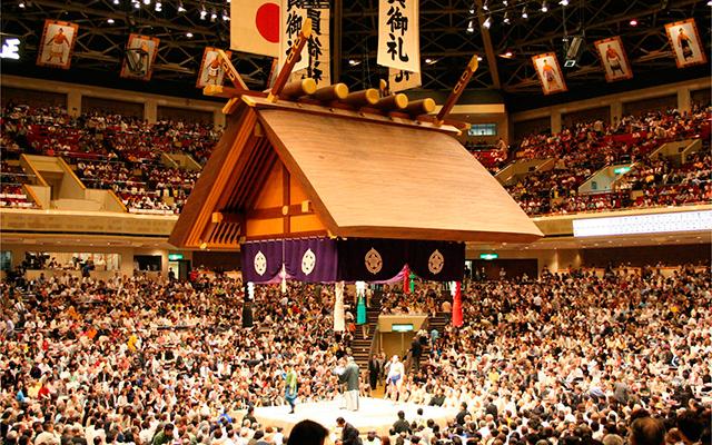 Ryōgoku Kokugikan, El Hall del Sumo